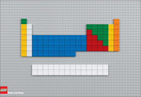 LEGO periodic table