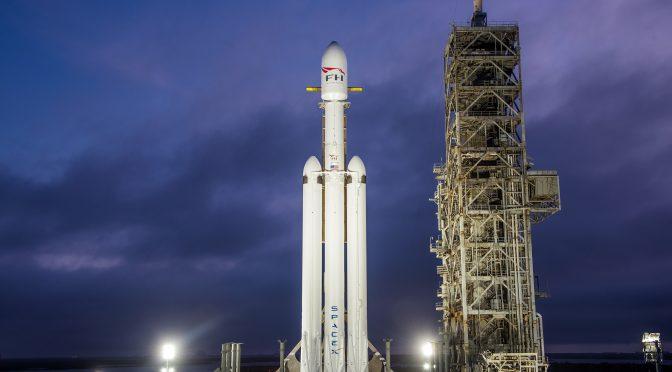 Følg med når verdens stærkeste sender en sportsvogn ud til Mars' bane