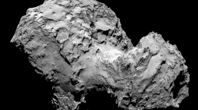 Rosetta ankommer til kometen 67P / Churyumov-Gerasimenko. Samtidig er kometen Siding Spring på vej mod Mars.