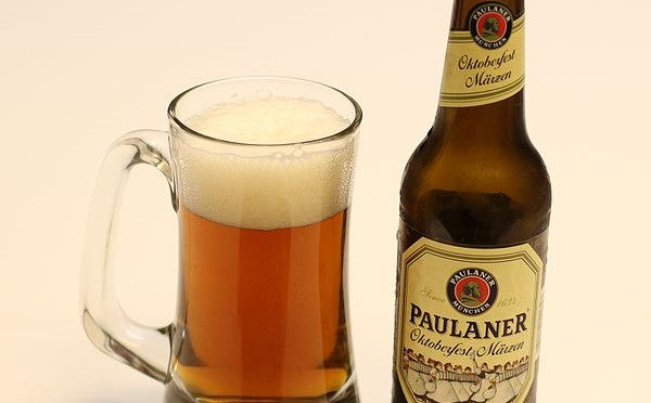 http://commons.wikimedia.org/wiki/File:Paulaner_Oktoberfest_Marzen_11.2oz_bottle_and_beer_mug.jpg