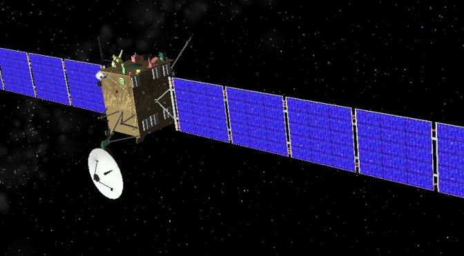 Rosetta missionen er afgørende for menneskehedens skæbne!
