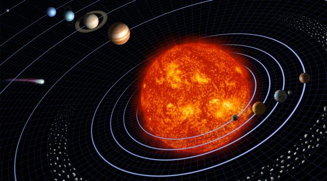 Med Lysets Hast Gennem Solsystemet