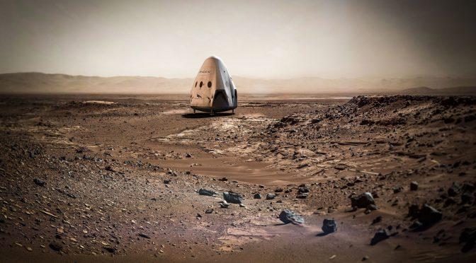 Første rumskib til Mars om to år