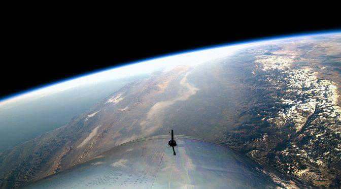 Virgin Galactic kysser grænsen til rummet