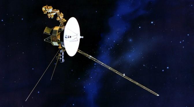 Real-time visualisering af NASA's Deep Space Network.