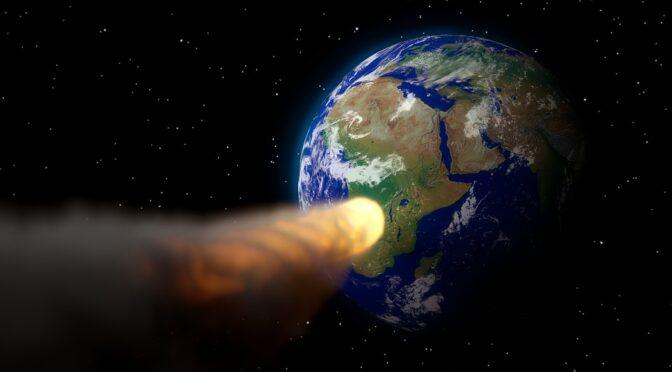 Kollisioner kan resultere i udryddelse af alt liv på jorden
