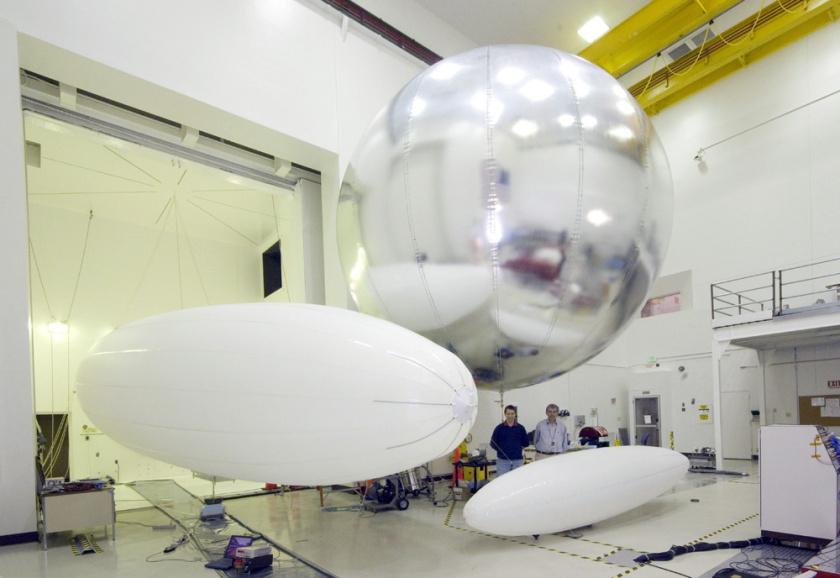 Nogle af ballon-koncepterne hos JPL. (Foto: JPL)