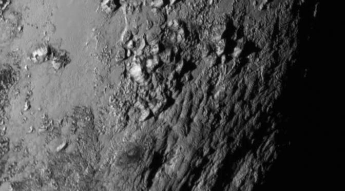 Billeder fra Pluto